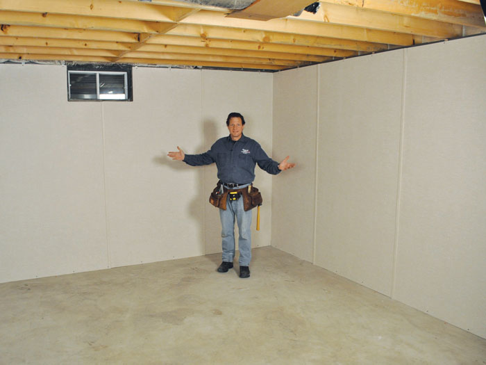 basement to beautiful wall panels insulated basement wall panels in