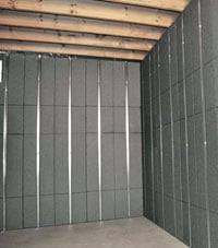 Insulated basement panels for getting your basement walls ready for finishing