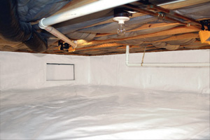Crawl Space Repair After in Providence
