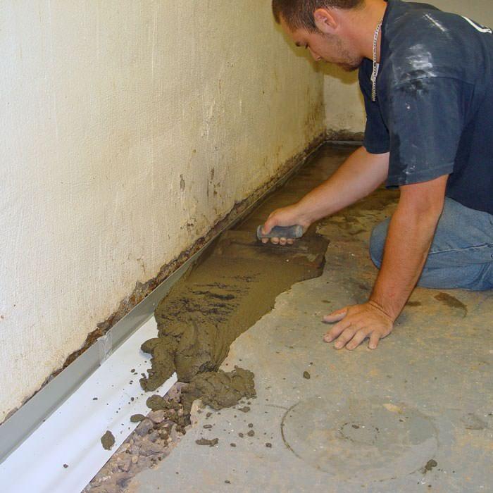 Install Flooring Around Floor Drain: Sump Pump Installation In Newport, Providence, Framingham