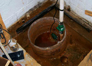 Extreme clogging and rust in a Cape Cod sump pump system