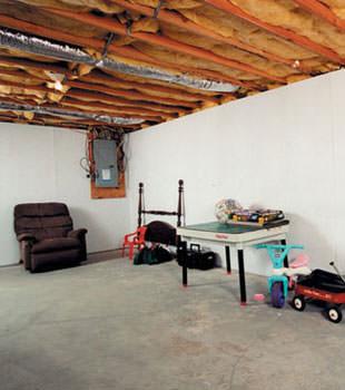 waterproof basement wall covering in ma and ri wet basement wall