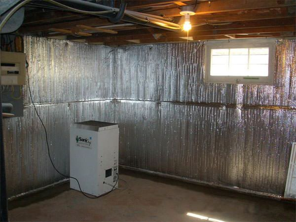 Thermaldry Basement Radiant Wall Barrier For Newport Providence